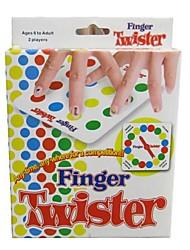 engraçado jogo twister dedo para as idades de 6 a adulto