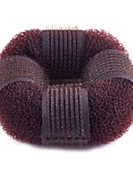 Classic Coffee Fabric Hair Ties For Women (Coffee)