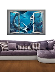 3D Wall Stickers Wall Decals, Mermaid Decor Vinyl Wall Stickers