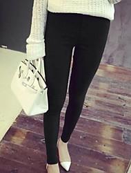 vrouwen casual stretchy skinny broek