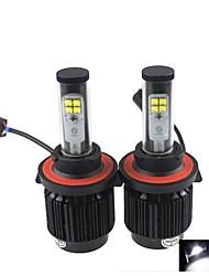 CONQUER®2PCS H13  20W High Brightness High Power CREE LED Headlight Headlamp for Car