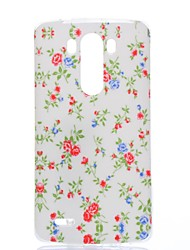 Elegant Blooms Pattern TPU Soft Case for LG G3 Mini