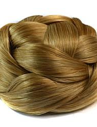 peluca moño bun bobina vendimia (beige)