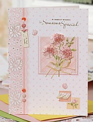 Non-personalized Side Fold Wedding Invitations Thank You Cards