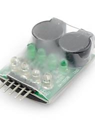 neewer® bateria lipo profissionais indicador alarme de baixa tensão buzzer 2s-4s
