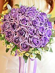 style coréen rose bouquet de mariage