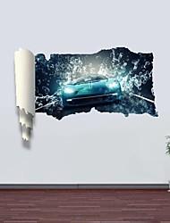 Adhesivos de pared pegatinas de pared 3d, hyun-color de la decoración del coche vinilos adhesivos