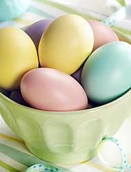 Ice-cream Color Easter Egg,Random Color,10Pcs/bag