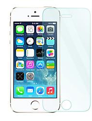 0.33 mm Protector de pantalla de cristal templado con un paño de microfibra para el iphone 5/5 s / 5c