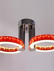 18W Montagem do Fluxo ,  Contemprâneo / Tradicional/Clássico Cromado Característica for LED MetalSala de Estar / Quarto / Cozinha /