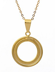 Yue Women's Causual Fashion Round Necklace