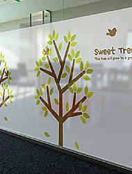 """60 * 80 centímetros (24 """"w * 31"""" l) livre sabor gum tree papel estática"""