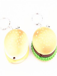 творческие гамбургер зажигалки, зеленый, желтый