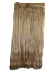 20-Zoll-Frauen Clip gerade Haarteile synthetische Erweiterungen