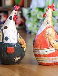 pays couple poussin de pâques, 2pcs / set
