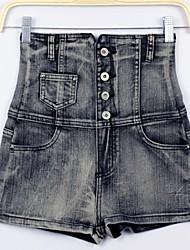 Sagetech®Women's High Waist Bodycon Denim Short Pants