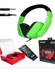 KOMC A15 On-Ear Wired Headset with Mic for Mobile Phone