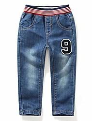 Boy's Fashion Painted Cowboy Pants