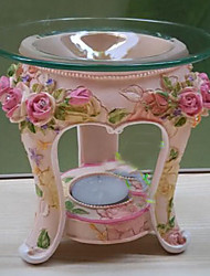 Continental Retro Rose Candleholder