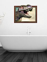 3d Stickers muraux stickers muraux, dinosaure décoration salle de bain murale pvc stickers muraux
