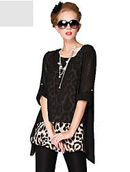 leopardo dos piezas loke camiseta de MASA mujeres
