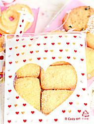 Beautiful Love Cookies Bag (Set Of 20)