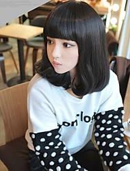 preto peruca Perucas para mulheres Ondulado Crespo Cacheado Onda de Água Ondulado Natural Ondulação Larga Onda de Corpo Onda Profunda