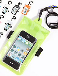 Underwater Mobile Phone Waterproof Pouch Case PVC Dry Bags For Iphone 4S 5s Samsung Galaxy S3 S4 S5 Snorkeling Swim