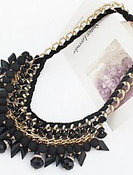 Tina -- European and American Fashion Bohemian Resin Necklace in Party