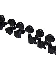 3L+3R Black Tuning Pegs Machine Heads tuner for Electric Guitar