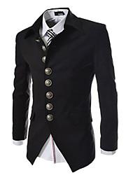Costumes & Blazers ( Coton mélangé ) Informel Courroies à Manches longues pour Homme
