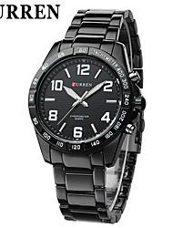 CURREN® Men's Simple Style Dress Watch Japanese Quartz Stainless Steel Strap Cool Watch Unique Watch