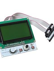 """geeetech LCD12864 Smart Controller 3 """"LCD-Display-Modul für 3D-Drucker"""