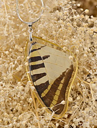 borboleta effect®real cinco bar borboleta swordtail individuais colares vitória para senhoras primavera Fation