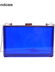 Handcee® Handbag Acrylic/Metal Evening Handbags/Transparent Clutches