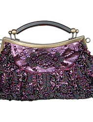 Handbag Fabric Evening Handbags/Clutches/Mini-Bags With Pearl