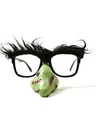 pc grappige clown groene neus geek&chique party bril