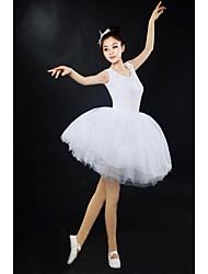 Ballet Dresses&Skirts/Tutus & Skirts/Tutus Women's Performance/Training Modal Appliques White