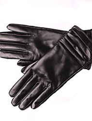 Women Party/Casual Gloves Genuine Leather Winter Warm Gloves