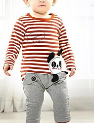 Boy's Cotton Clothing Set , Summer/Spring/Fall Long Sleeve