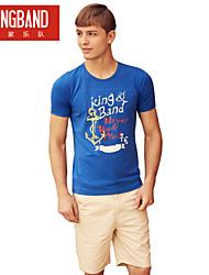 Männer der Seewind Mann kb004 runden Kragen Baumwolle T-Shirt mit kurzen Ärmeln kb004