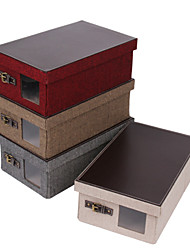Wedding Gifts Canvas Cube Container Cloth Shoe Toy Folding Storage Bins Room File Box