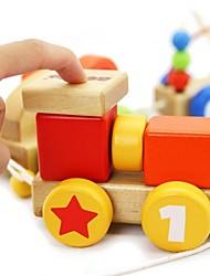 benho trem do bebê brinquedo de madeira