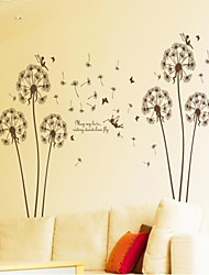 Wall Stickers Wall Decals, Style May My Love Riding Dandelion Fly PVC Wall Stickers