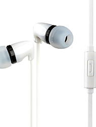 Zanmson ZE-301 Wired Musical Mini In Ear Earphone with Stereo Mic for Iphone/Iphone plus