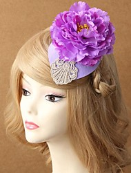 Fashion Lace Flower Pearl Lady David Ray Hat Hairpin