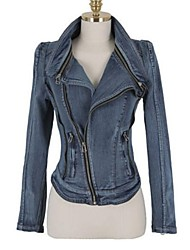 Women's Vintage Casual Medium Long Sleeve Short Jacket
