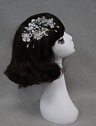 Women Lace/Pearl Hair Combs/Flowers With Wedding/Party Headpiece By Hand
