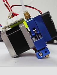 xc3d fabricant mk10 tout d'extrudeuse de métal avec câble pour imprimante 3d