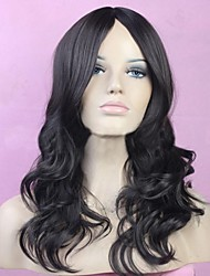 Big Volumes in Fashionable Black Long Wigs